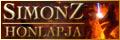 SimonZ weblapja